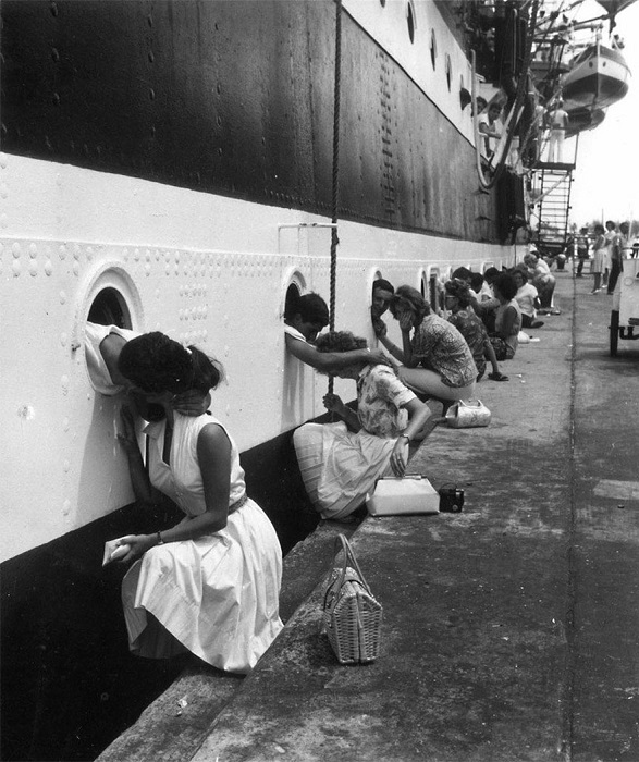 Перед отправлением войск в Египет, 1963 год.