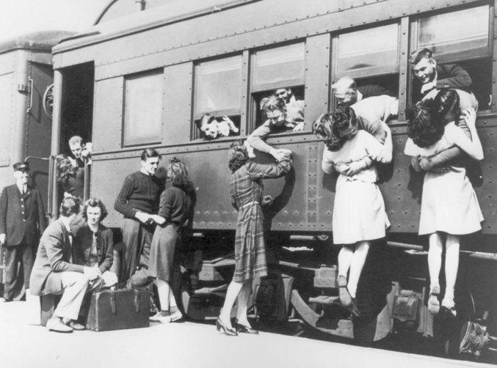 Перед отъездом на фронт, 1943 год.