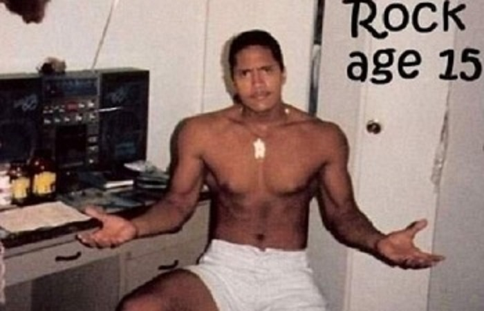 15-летний Дуэйн, 1987 год.