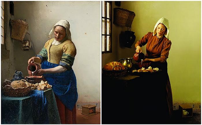 Нидерландский живописец Ян Вермеер не обошел стороной и тему повседневного быта, создав неповторимое произведение искусства.
