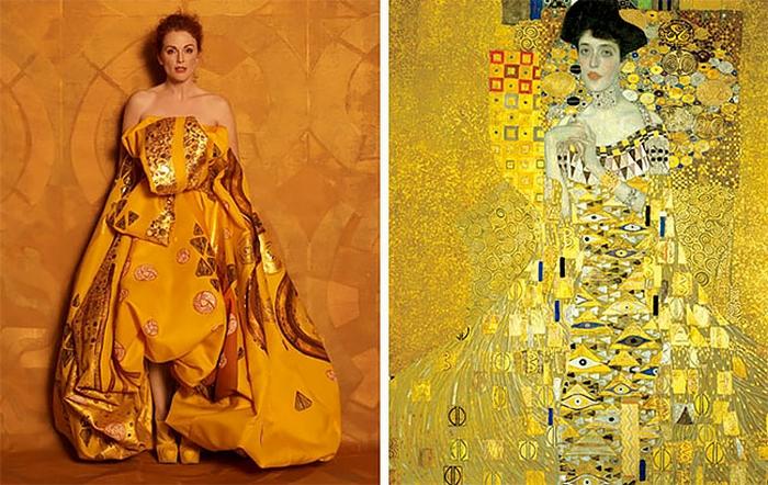 На создание картины австрийский художник Густав Климт потратил 4 года, в течение которых сделал более 100 набросков.