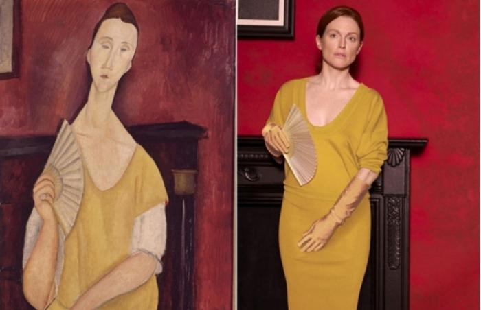 Картина итальянского художника была украдена в мае 2010 года из парижского Музея современного искусства.