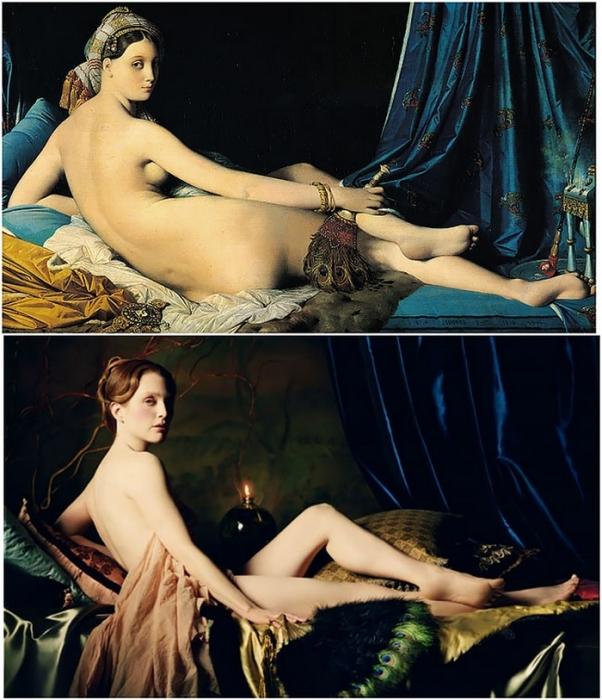 Французский художник Жан Энгр не задумываясь изменял некоторые черты своих моделей, чтобы достичь идеальности либо подчеркнуть выразительность формы.