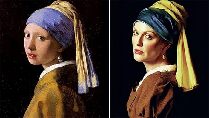 Одну из  наиболее известных картин нидерландского художника Яна Вермеера часто называют голландской Моной Лизой.