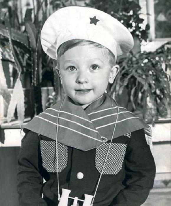 Евгений Плющенко в детстве.