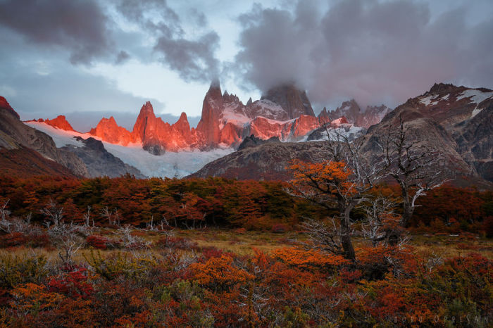 Великолепные красоты для тех, кому нравятся горные вершины, хребты и чудесные пейзажи.