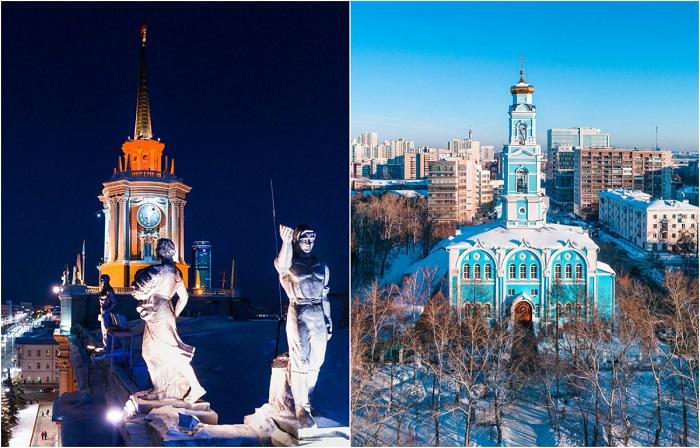 Город со своей историей на склоне Уральских гор и реки Исеть.