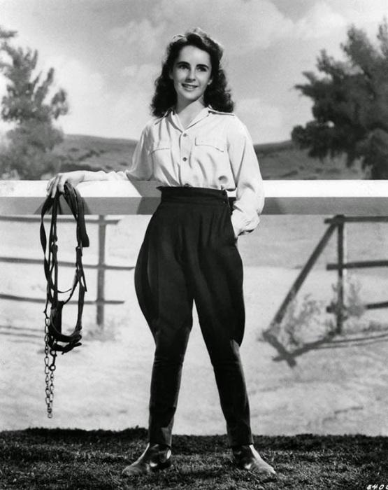 Роль наездницы в фильме «Национальный бархат» сделала 12-летнюю Лиз настоящей звездой.