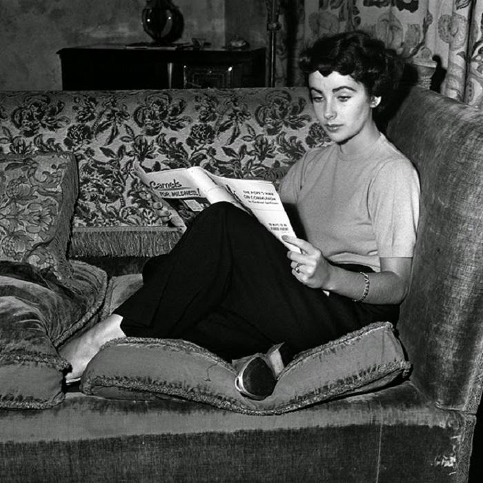 За просмотром журнала, 1948 год.