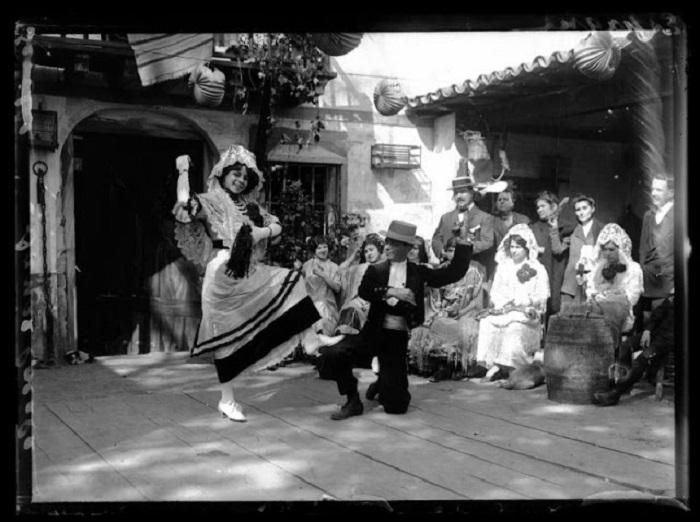 Парный танец. Испания, 1908 год.