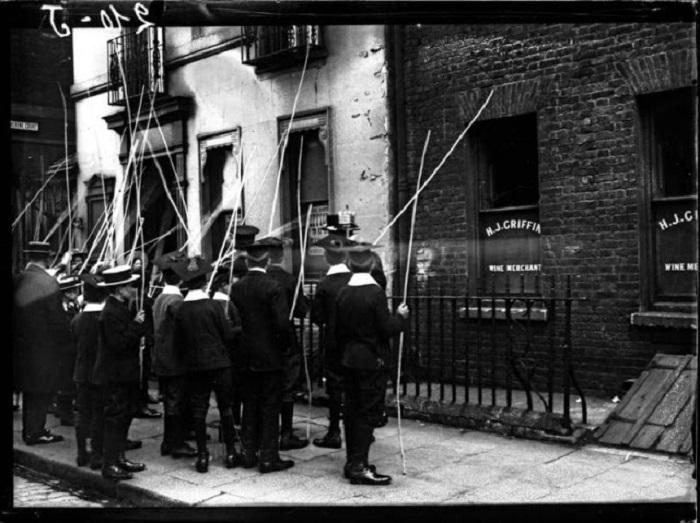 Митинг в Лондоне. Великобритания, 1917 год.