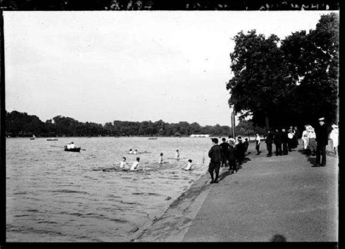 Гайд-парк. Лондон, 1900 годы.