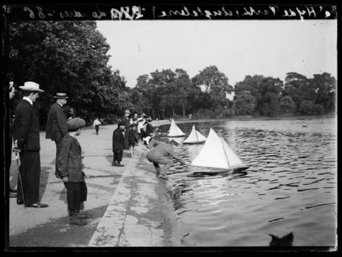 Королевский Гайд-парк в Лондоне.