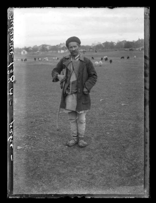 Болгарский пастух, 1908 год.