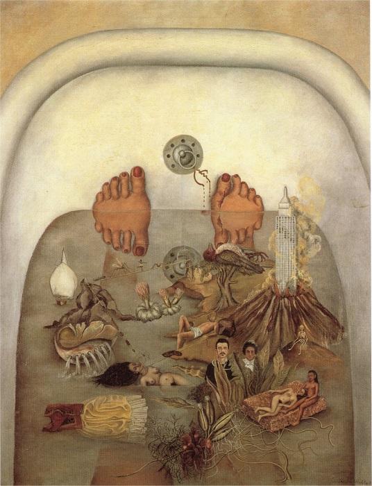 Основной темой творчества мексиканской художницы была боль – как душевная, так и физическая.