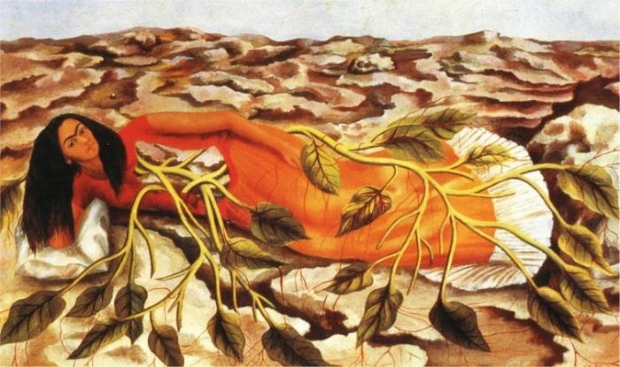 Фрида Кало любила свою родину, а патриотизм воплощала в самобытных и символических картинах.