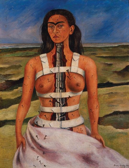 Самая известная из картин мексиканской художницы представляет яркий пример стойкости и силы.