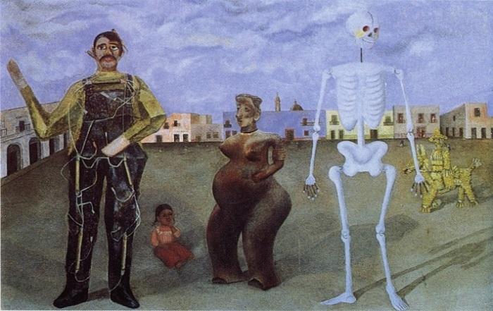 Свою тоску о несбывшемся материнстве Фрида Кало перенесла на холст с помощью краски и кисти.