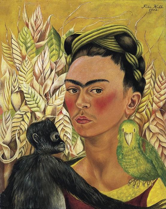 Символическую замену детям Фрида Кало пыталась найти в домашних животных, которых часто изображала на своих картинах.