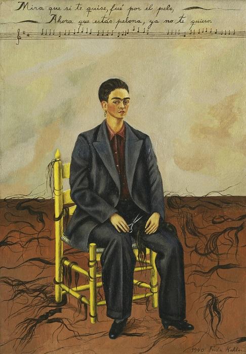 Такой автопортрет мексиканская художница нарисовала после завершения бракоразводного процесса с Диего Риверой.