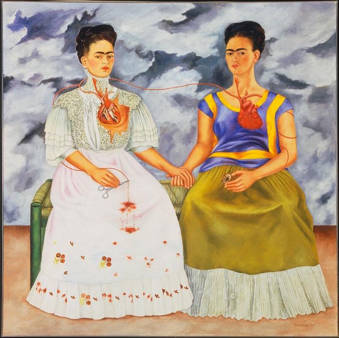 Эту картину Фрида Кало написала под впечатлением после разрыва отношений с супругом Диего Риверой.