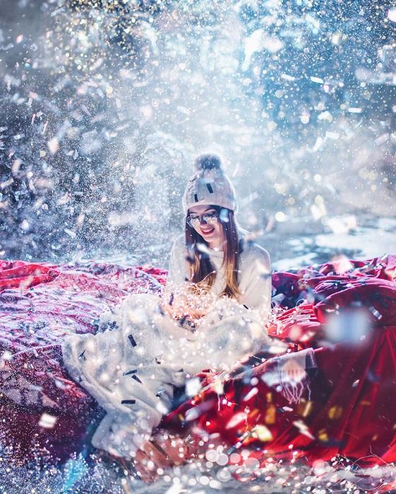 Талантливому российскому фотографу Кристине Макеевой удается превращать свои замечательные работы в изумительные сказочные иллюстрации.
