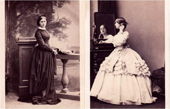 Редкие фотографии знаменитых дам.