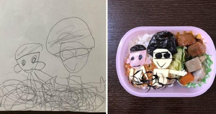 Детский бенто-ланч получил особую форму и называется «Карябэн».