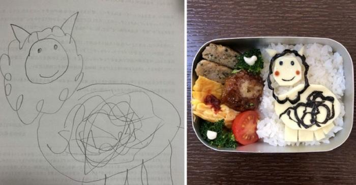 Кучерявый баранчик аппетитно смотрится на рисе.