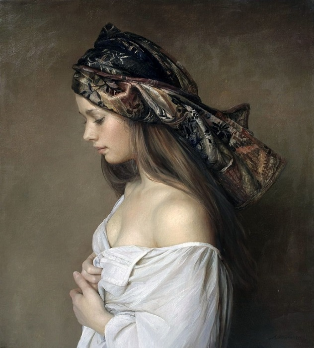 Красота обнаженного тела женщины