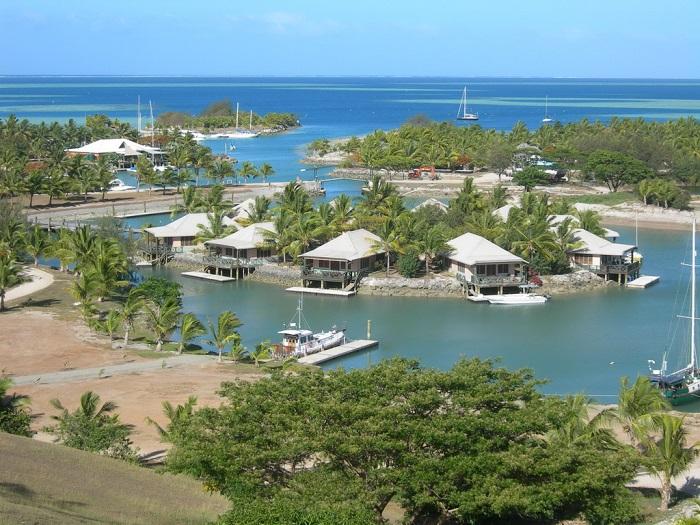 Островное государство в южной части Тихого океана.