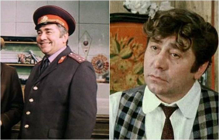 Советский актёр театра и кино сыграл капитана милиции.