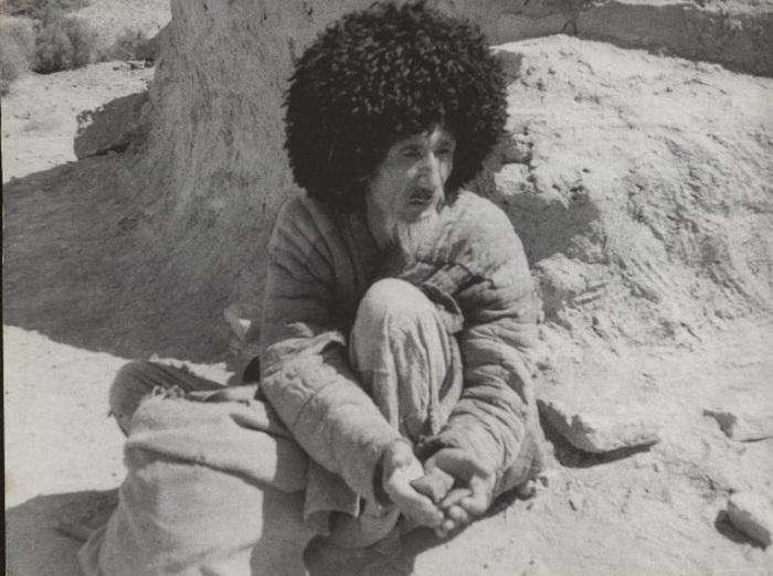 Нищенствующий мусульманский монах, встреченный во время одной из поездок Георгием Аргиропуло.