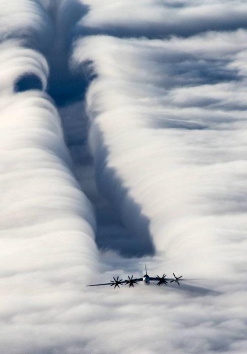 Самый быстрый винтовой самолет, единственный турбовинтовой бомбардировщик.