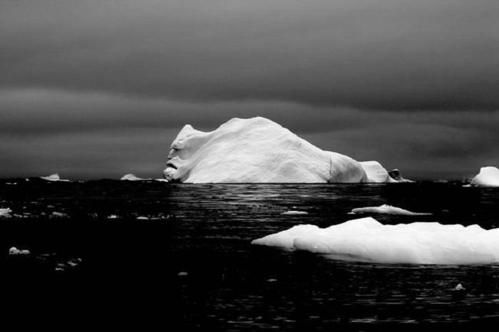 Снимок сделан во время экспедиции по Антарктиде.