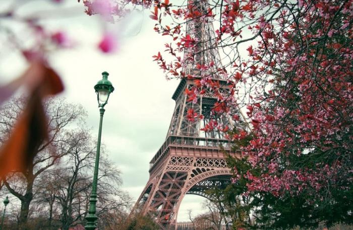 Башня в центре Парижа, самая узнаваемая архитектурная достопримечательность.