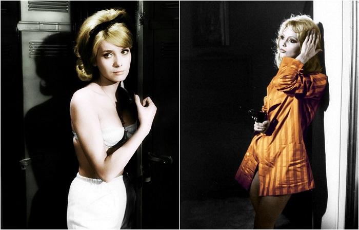 Самые популярные французские актрисы 1950-1960 годов.