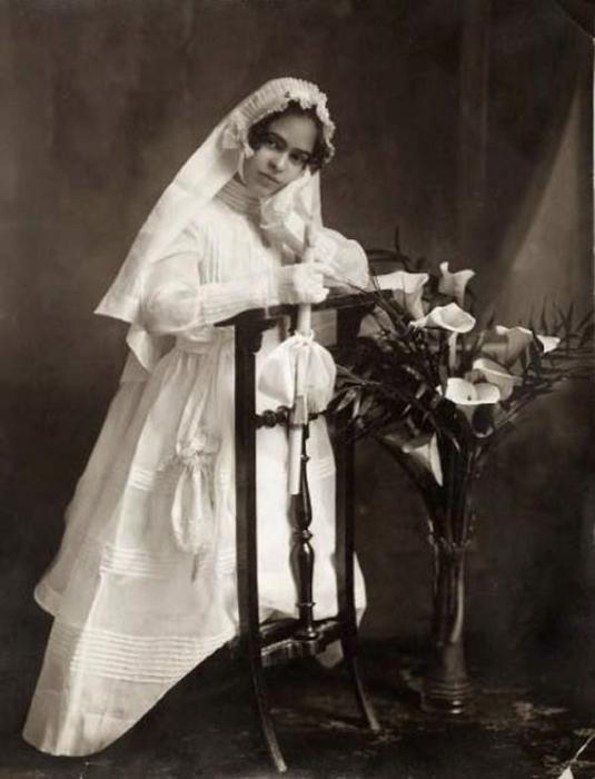Самая известная мексиканская художница, 1920 год.