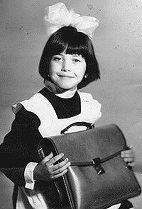 Жанна Фриске в детстве.