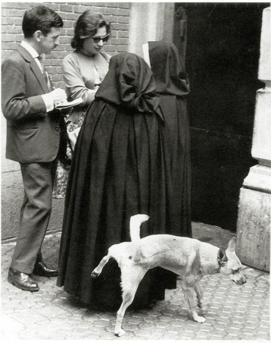 Италии 50-е годы.