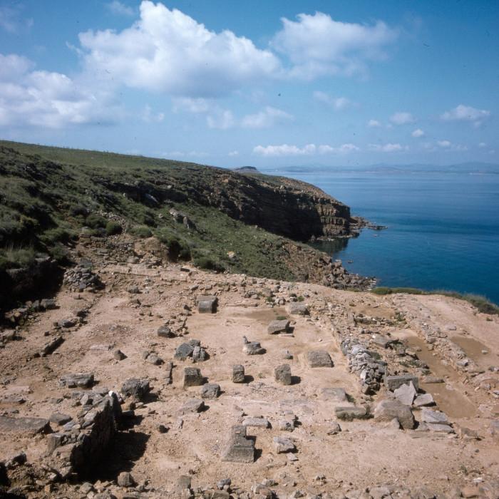 Остатки главного храма, на острове Лемнос, посвященного богине Деметре.