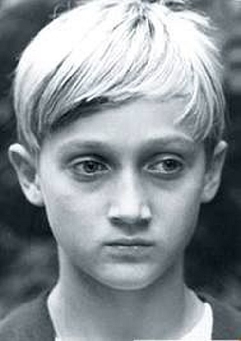 Гоша Куценко в детстве.