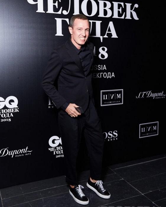Гость премии «Человек года-2018» актер театра и кино, продюсер Игорь Верник.