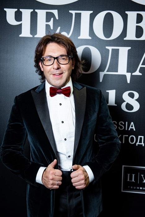 Российский тележурналист и шоумен Андрей Малахов - победитель премии «Человек года – 2018» в номинации «Лицо с экрана 2018».