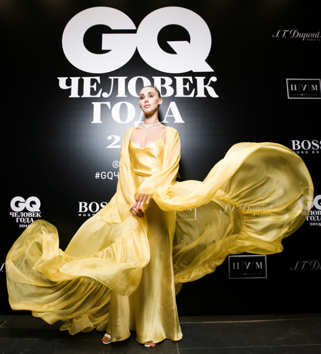 Дизайнер и основатель мастерской вечернего платья «Rasario» Расида Лакоба на ежегодной церемонии «Человек года – 2018».