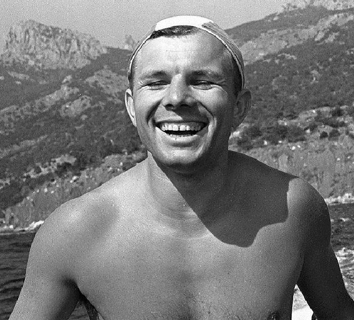 Отдых в Крыму, после полета. Лето, 1961 год.