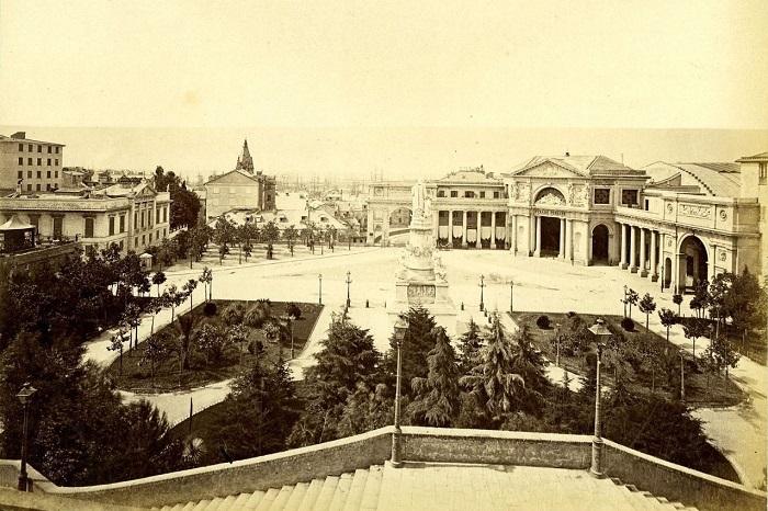 Генуя второй половины XIX века.