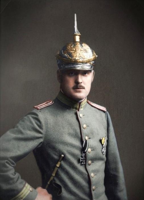 Портрет неизвестного офицера немецкого кирасирского полка.