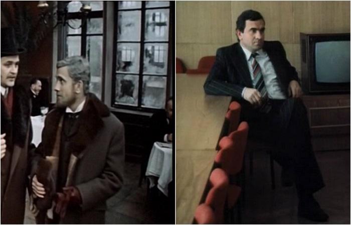 В художественном фильме рассказывается о трагической судьбе женщины из высшего общества, где актер сыграл роль помещика, Константина Дмитрича Лёвина.