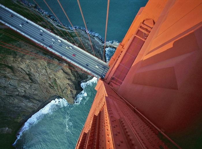 Висячий мост, соединяющий Сан-Франциско и округ Марин.